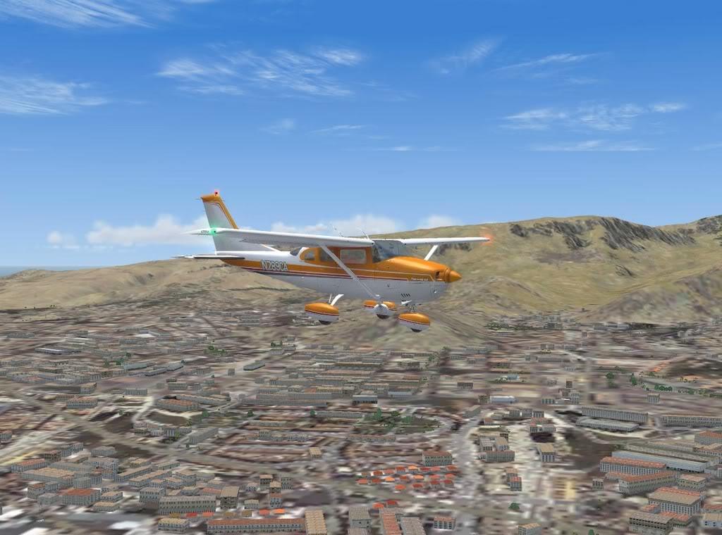 [FS9] - De Fuerteventura a Gran Canaria em Cessna Cessna_Canarias12