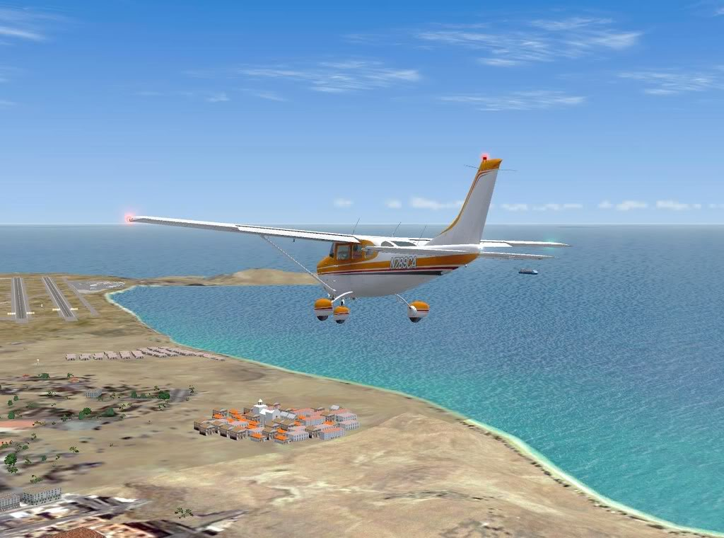 [FS9] - De Fuerteventura a Gran Canaria em Cessna Cessna_Canarias13