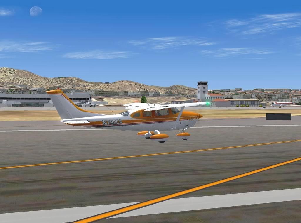 [FS9] - De Fuerteventura a Gran Canaria em Cessna Cessna_Canarias14