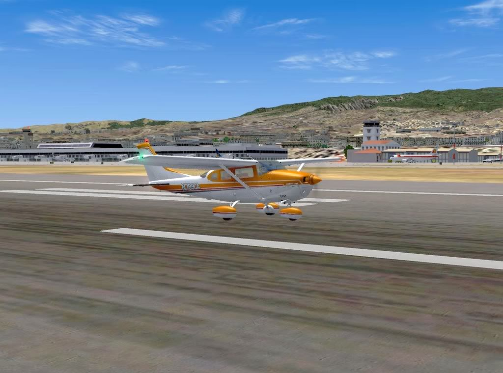 [FS9] - De Fuerteventura a Gran Canaria em Cessna Cessna_Canarias15