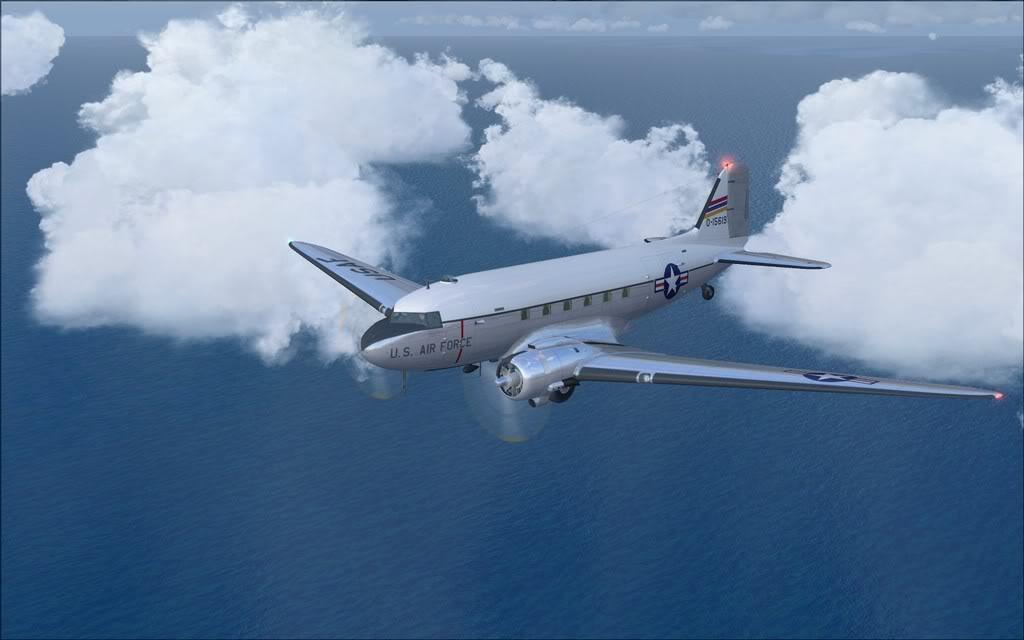[FS9] C-47 Skytrain convertido do FSX para FS9 C47_Douglas01