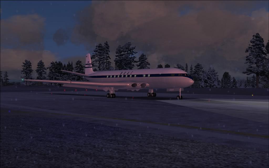 [FS9] Comet DH106 Partindo de Oslo para Aarhus Comet02