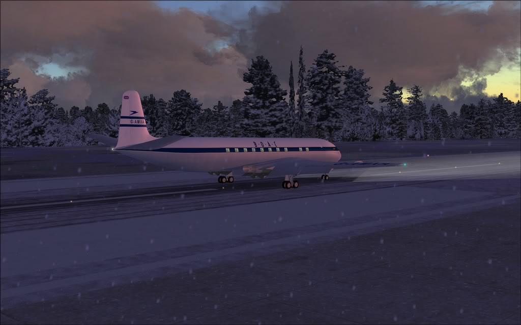 [FS9] Comet DH106 Partindo de Oslo para Aarhus Comet04