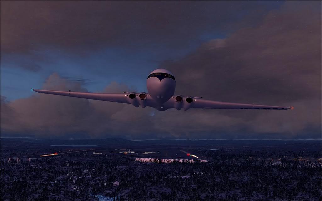 [FS9] Comet DH106 Partindo de Oslo para Aarhus Comet06