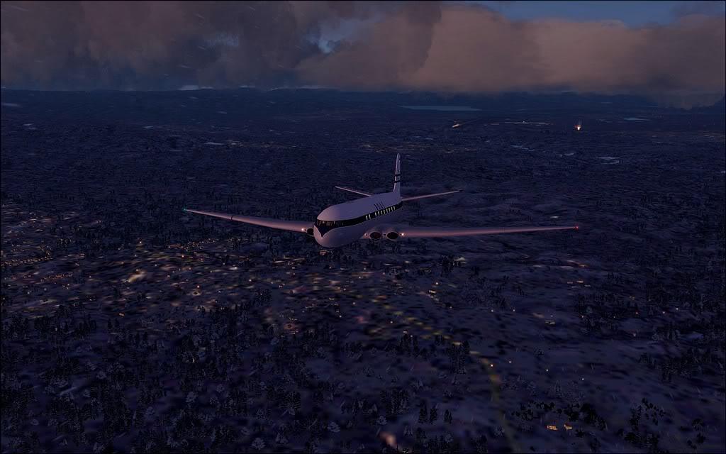 [FS9] Comet DH106 Partindo de Oslo para Aarhus Comet07