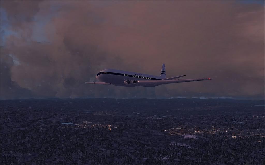 [FS9] Comet DH106 Partindo de Oslo para Aarhus Comet08