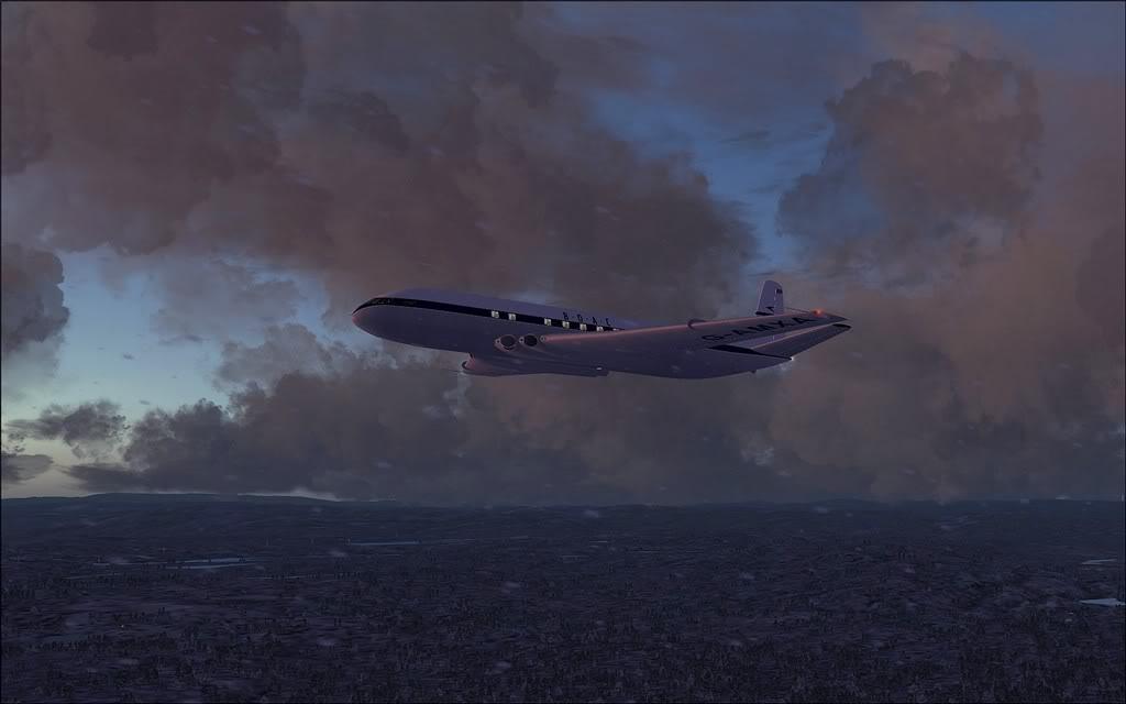 [FS9] Comet DH106 Partindo de Oslo para Aarhus Comet09