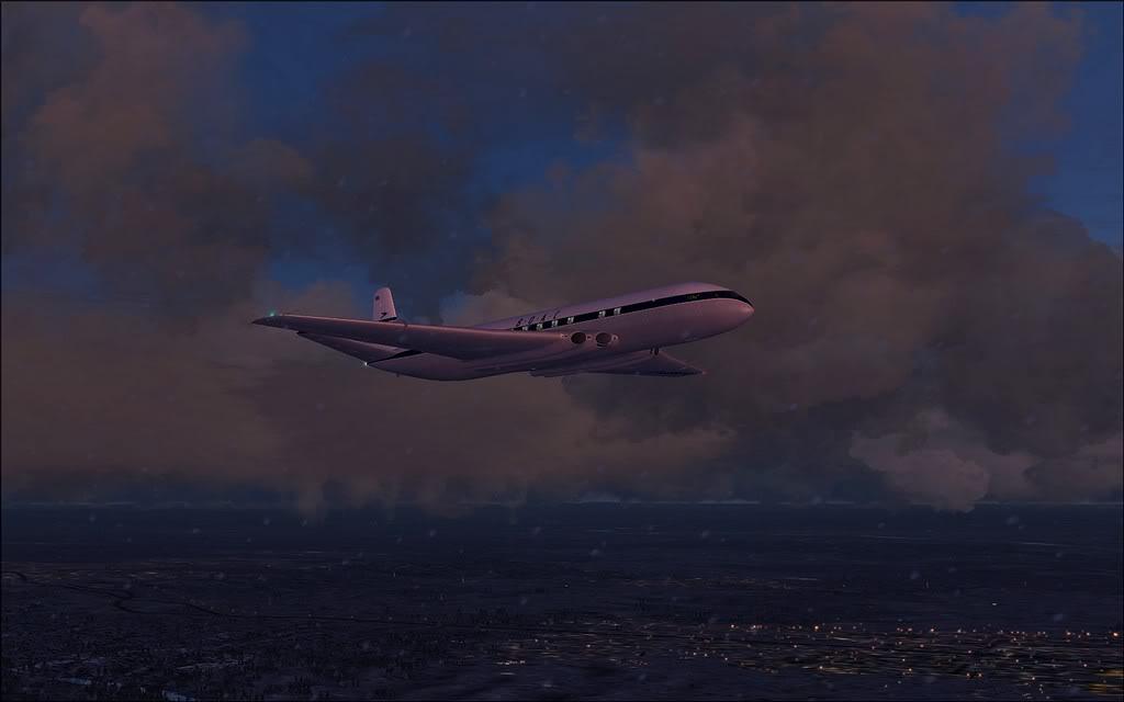 [FS9] Comet DH106 Partindo de Oslo para Aarhus Comet10