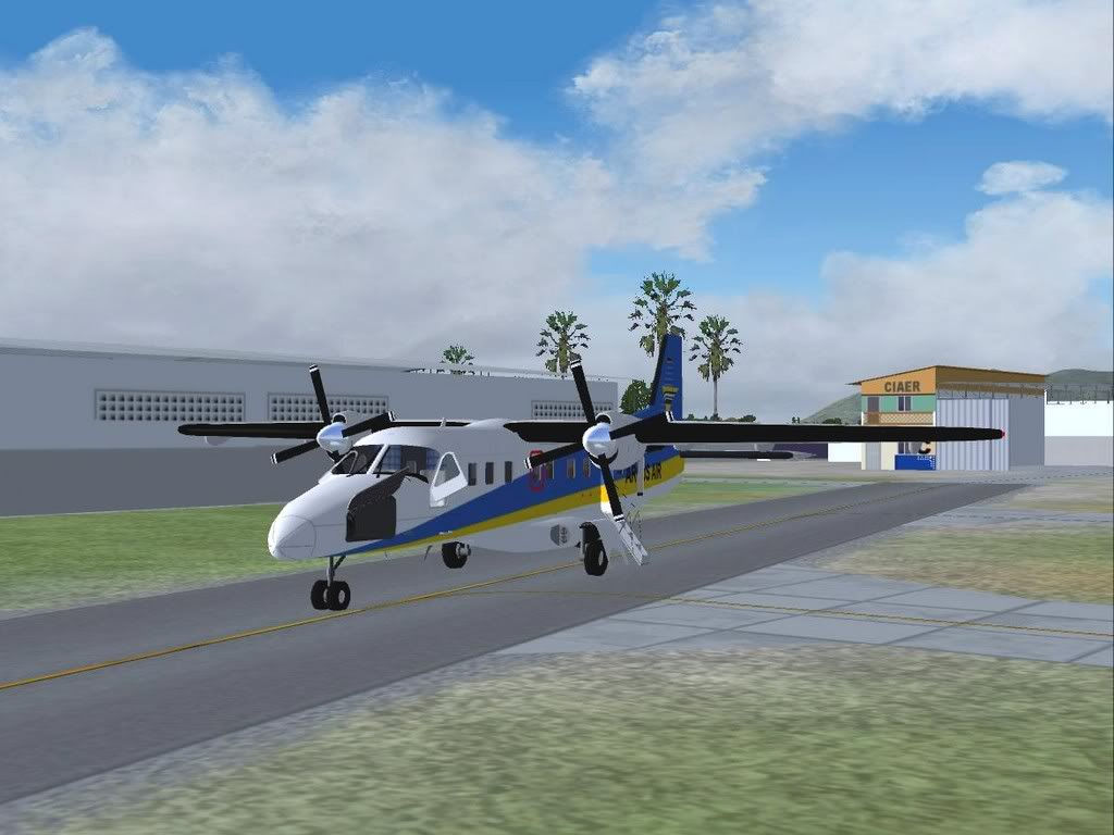 [FS9] - Do 228-212 em Fortaleza Do-22801