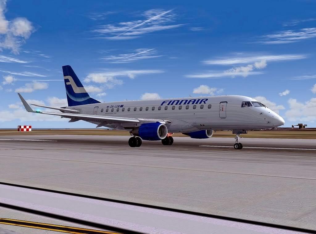 [FS9] - Testando o Embraer 170  da Wilco em Malta Embraer17001