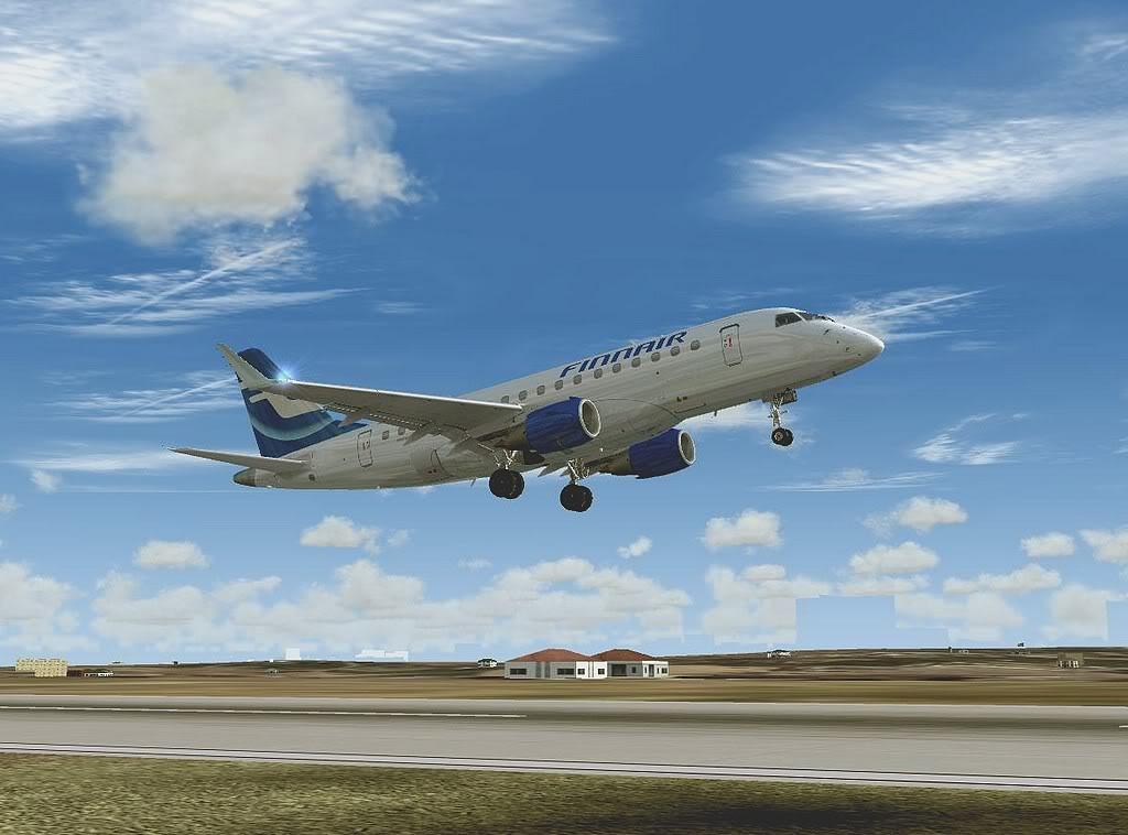 [FS9] - Testando o Embraer 170  da Wilco em Malta Embraer17002