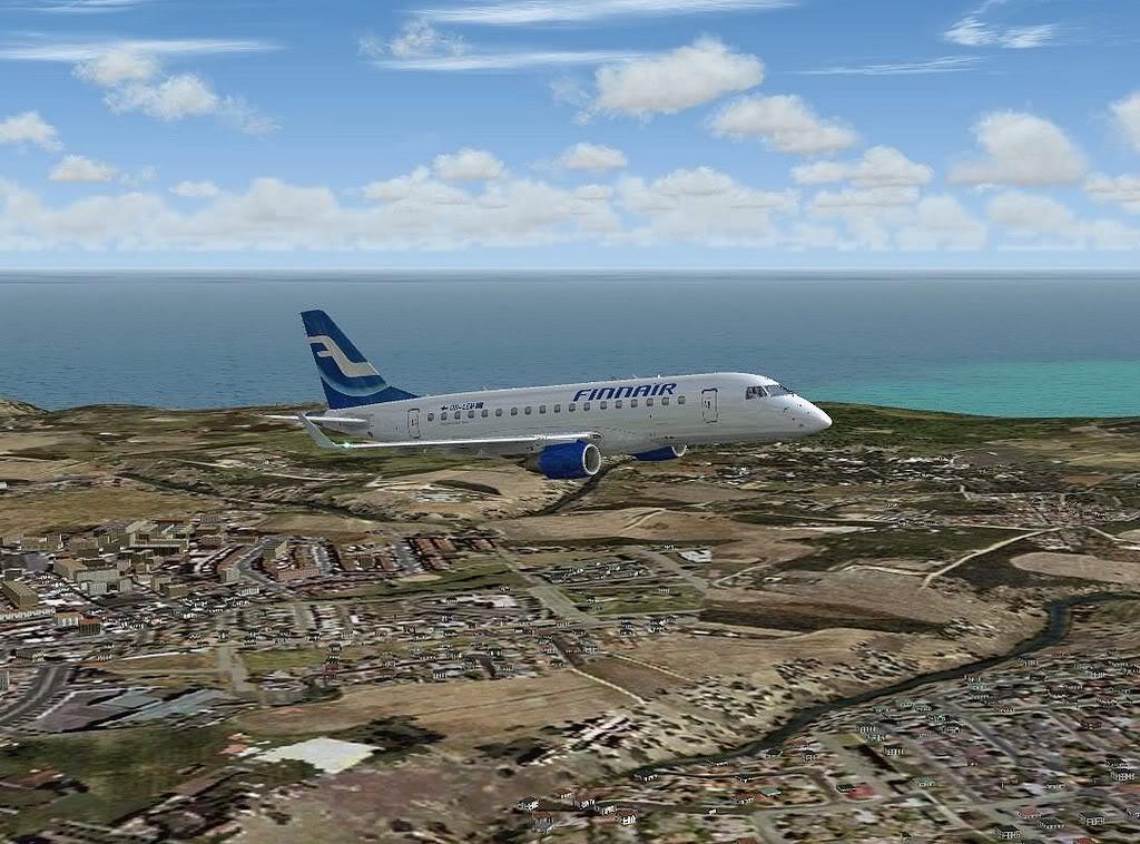 [FS9] - Testando o Embraer 170  da Wilco em Malta Embraer17003