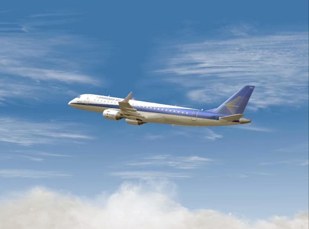 [FS9] - Testando o Embraer 170  da Wilco em Malta Embraer19001