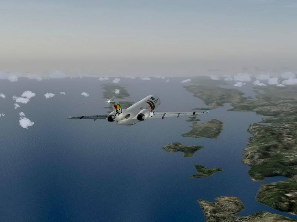 [FS9] - Voando pela Europa - Tirana para Sarajevo - Fokker100 Tirana05