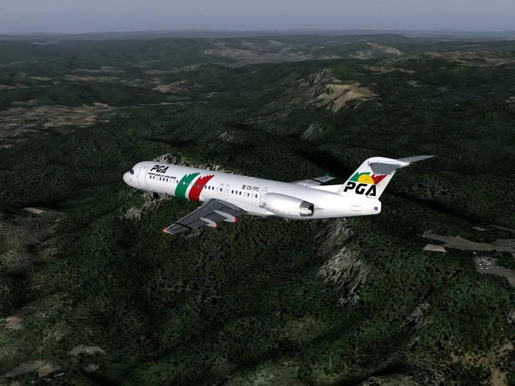 [FS9] - Voando pela Europa - Tirana para Sarajevo - Fokker100 Tirana06