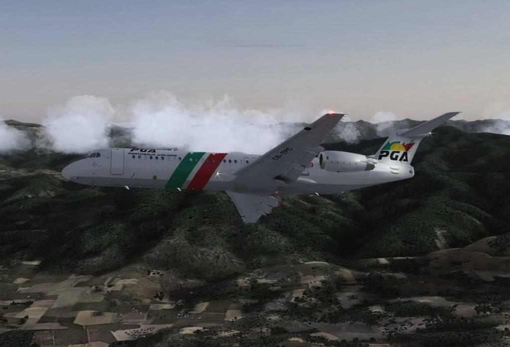 [FS9] - Voando pela Europa - Tirana para Sarajevo - Fokker100 Tirana07