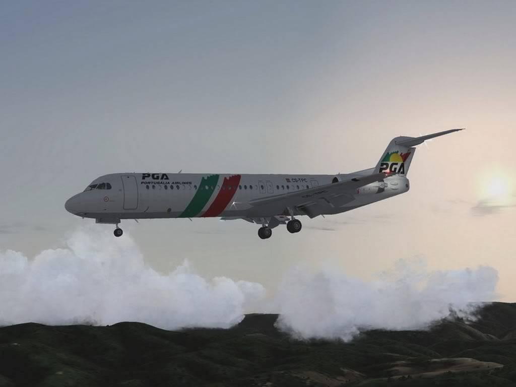 [FS9] - Voando pela Europa - Tirana para Sarajevo - Fokker100 Tirana09