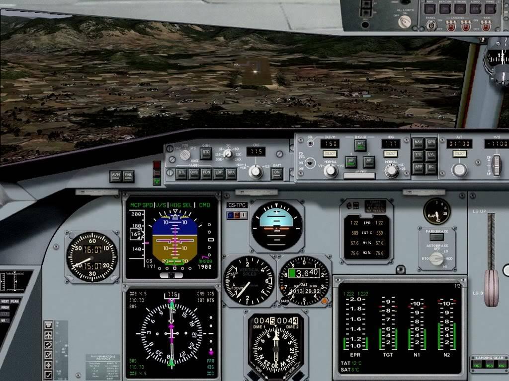 [FS9] - Voando pela Europa - Tirana para Sarajevo - Fokker100 Tirana11