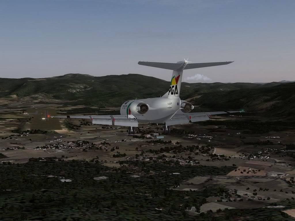 [FS9] - Voando pela Europa - Tirana para Sarajevo - Fokker100 Tirana12