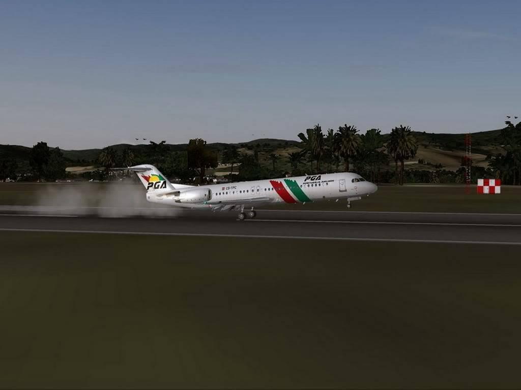 [FS9] - Voando pela Europa - Tirana para Sarajevo - Fokker100 Tirana13