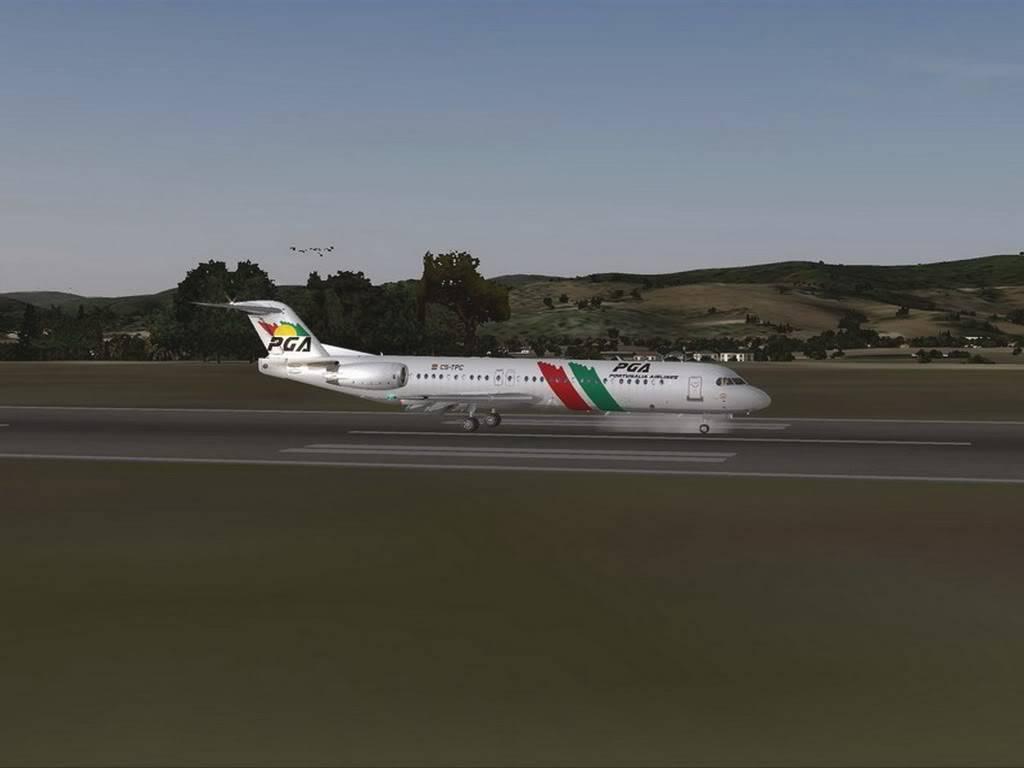 [FS9] - Voando pela Europa - Tirana para Sarajevo - Fokker100 Tirana14