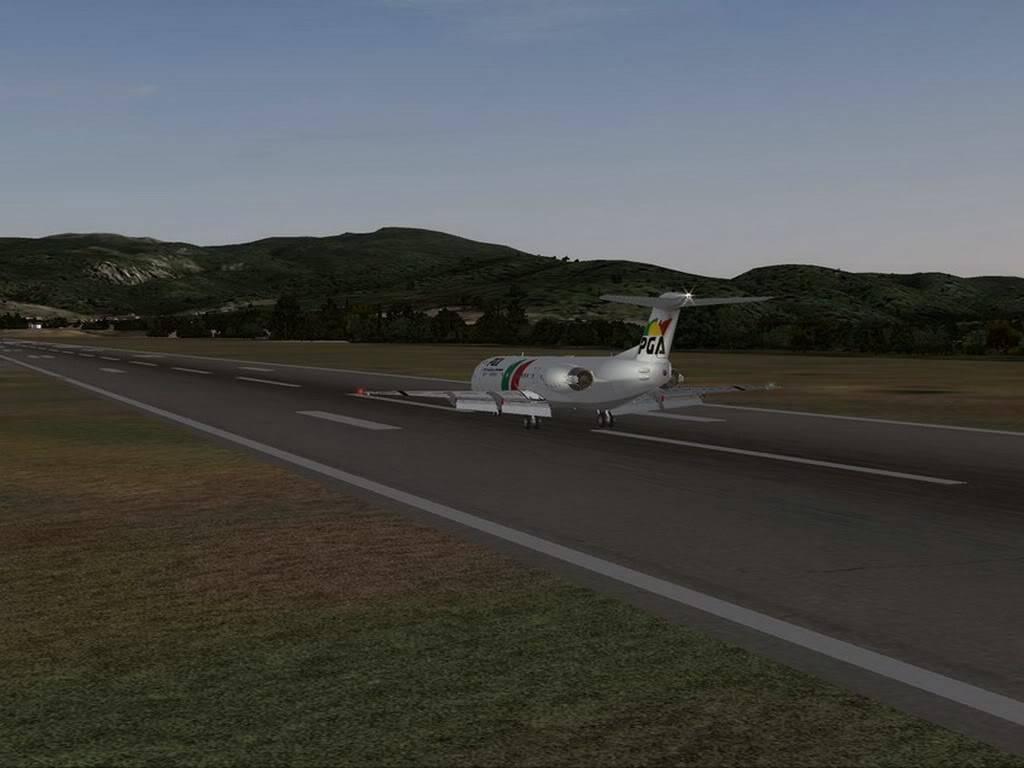 [FS9] - Voando pela Europa - Tirana para Sarajevo - Fokker100 Tirana15