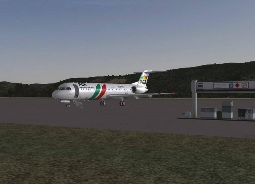 [FS9] - Voando pela Europa - Tirana para Sarajevo - Fokker100 Tirana16
