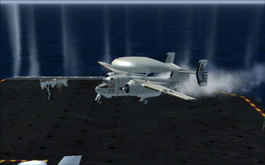 Grumman  E1B Tracer ao largo do Vietnam Grumman_Tracer02