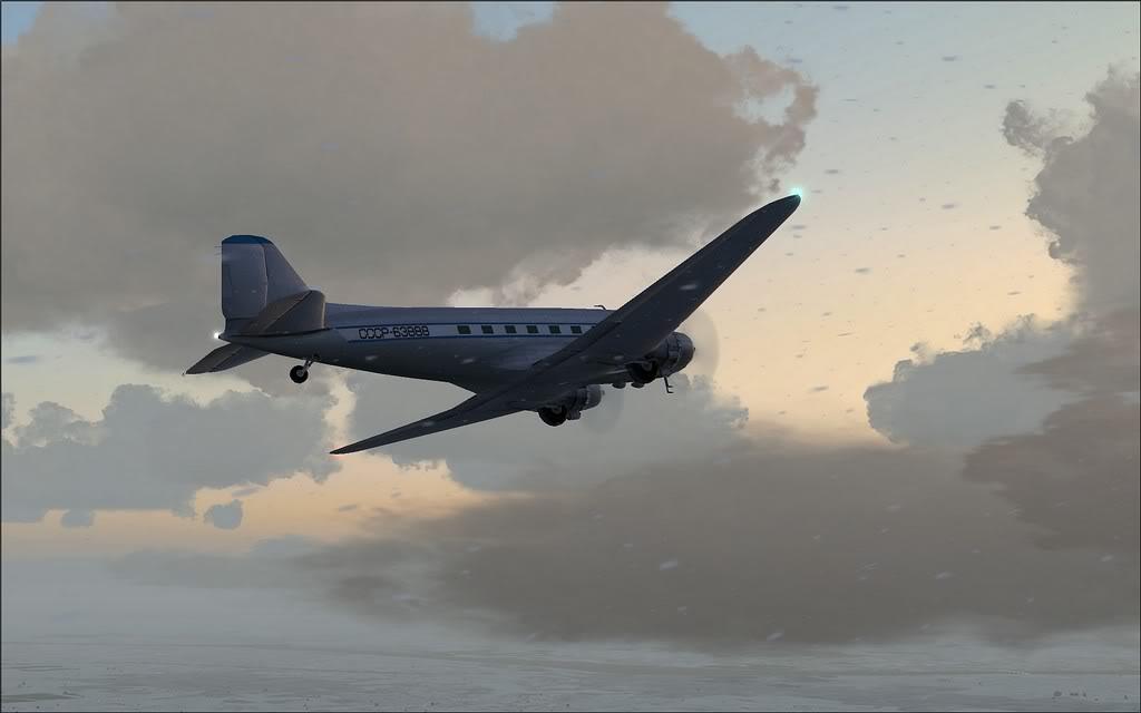 [FS9] LISUNOV LI 2 voando de Astrakhan para Atyrau Lisunov06