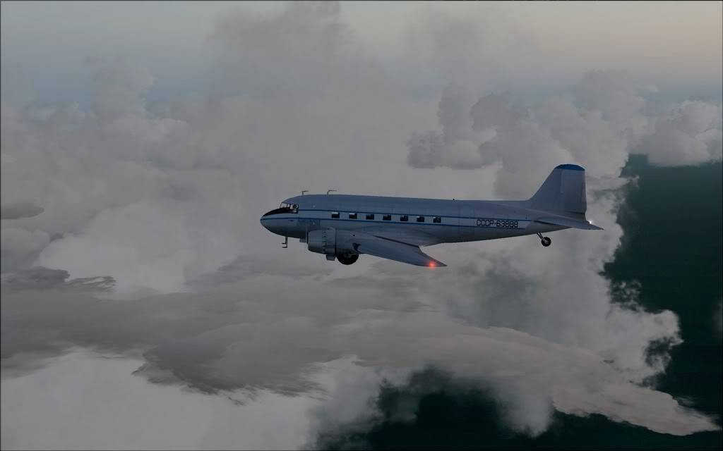 [FS9] LISUNOV LI 2 voando de Astrakhan para Atyrau Lisunov11