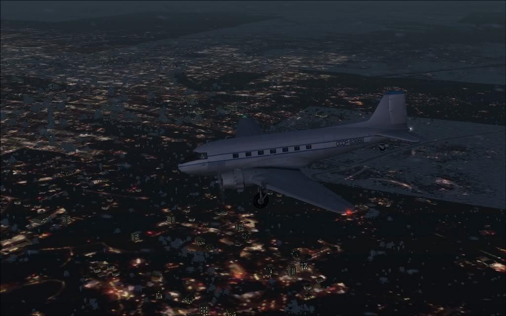 [FS9] LISUNOV LI 2 voando de Astrakhan para Atyrau PC1-2010-sep-28-005