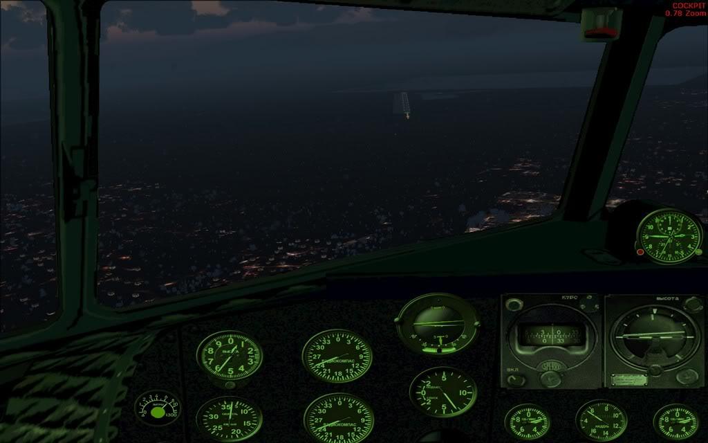 [FS9] LISUNOV LI 2 voando de Astrakhan para Atyrau PC1-2010-sep-28-006