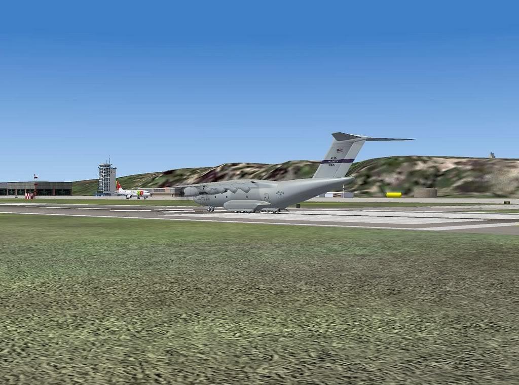 [FS9] - A400M USAF- Voo das Lajes para Lisboa A40001