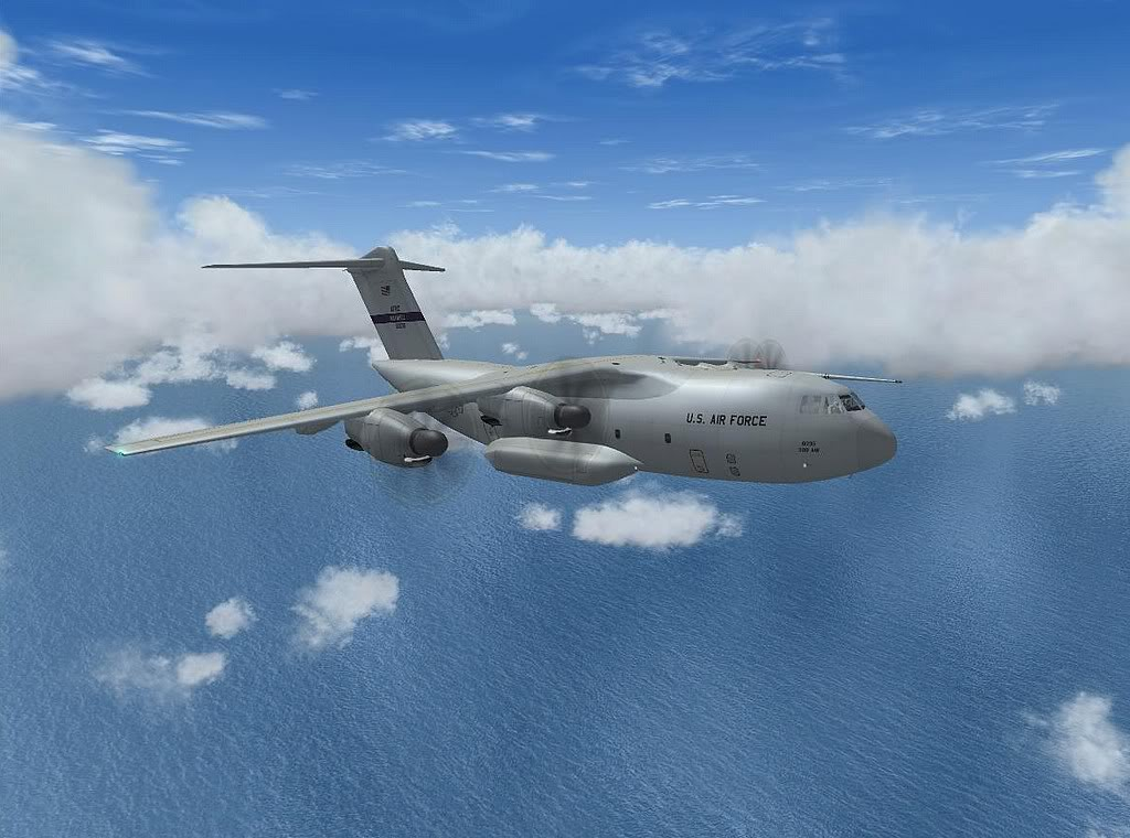 [FS9] - A400M USAF- Voo das Lajes para Lisboa A40004