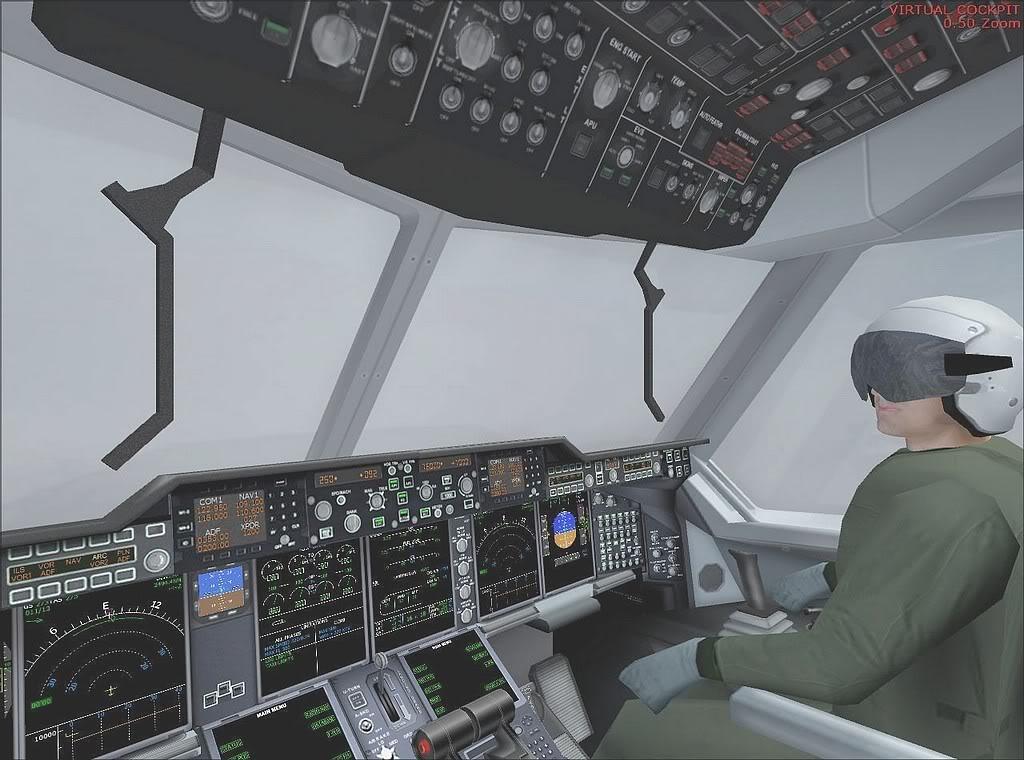 [FS9] - A400M USAF- Voo das Lajes para Lisboa A40006