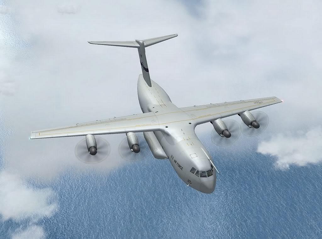 [FS9] - A400M USAF- Voo das Lajes para Lisboa A40007