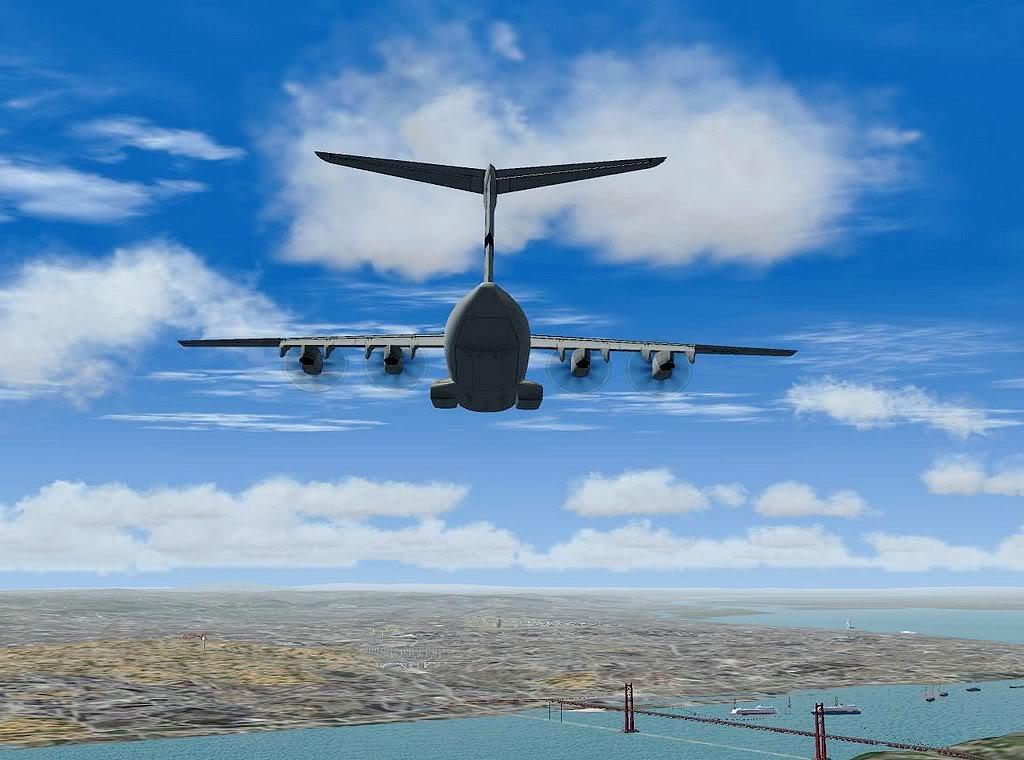 [FS9] - A400M USAF- Voo das Lajes para Lisboa A40011