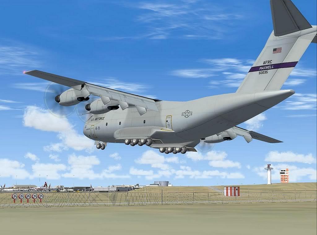 [FS9] - A400M USAF- Voo das Lajes para Lisboa A40013