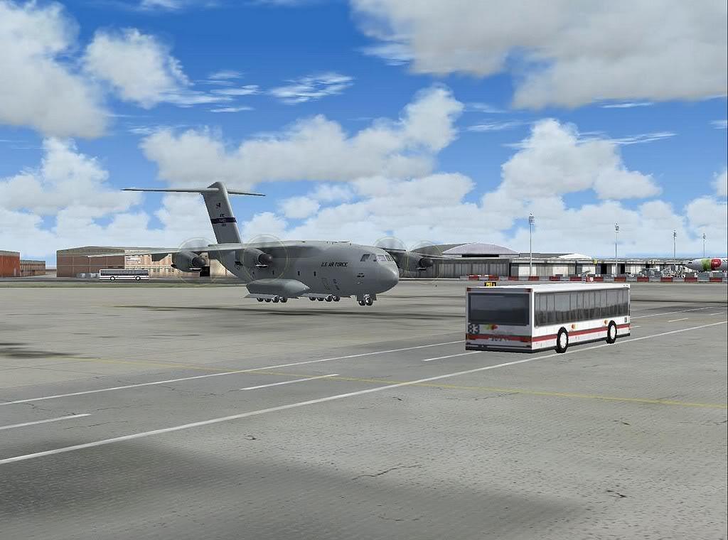 [FS9] - A400M USAF- Voo das Lajes para Lisboa A40014