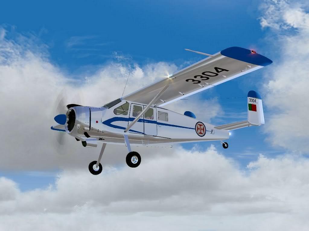 [FS9] - Max Holste Broussard voando de BA Beja para BA Ovar Broussard09