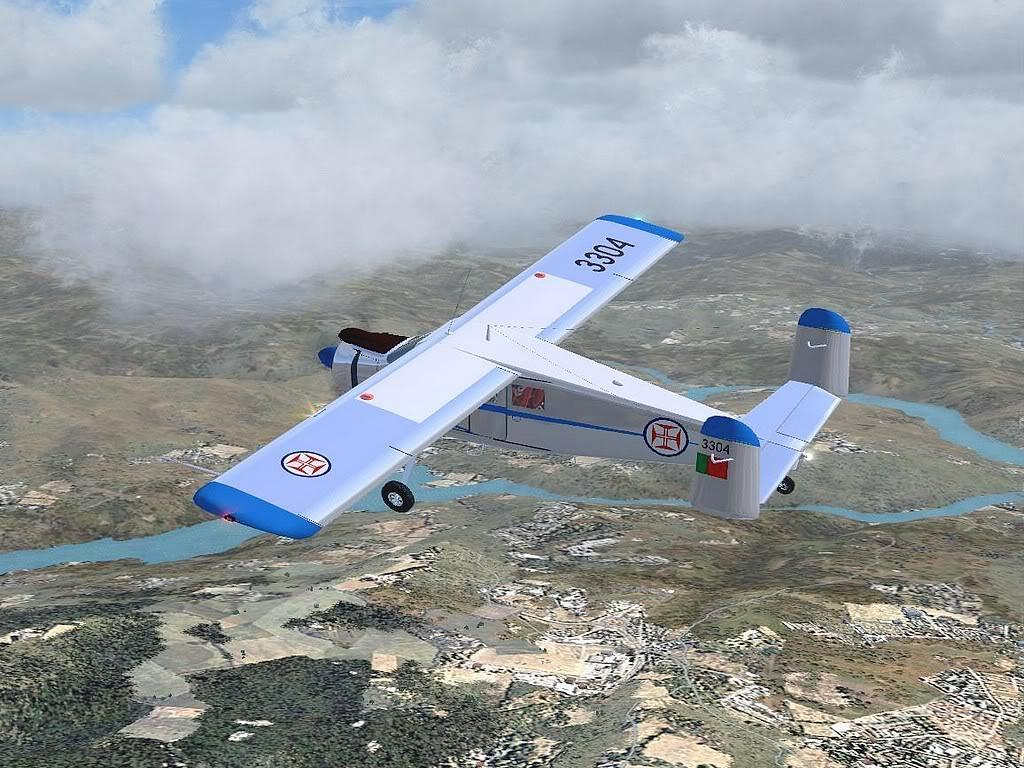 [FS9] - Max Holste Broussard voando de BA Beja para BA Ovar Broussard10