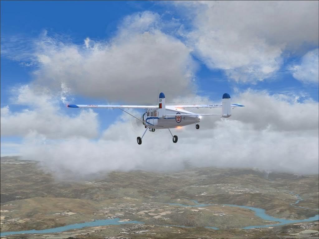 [FS9] - Max Holste Broussard voando de BA Beja para BA Ovar Broussard11