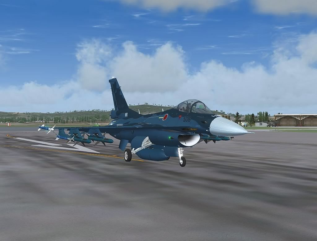 [FS9] Mitsubishi F-2A em Leuchars AB Air Show Screenshot251