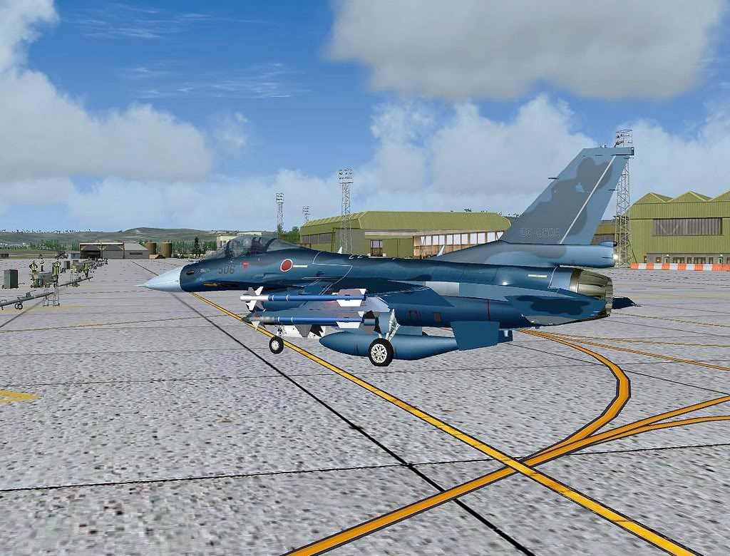 [FS9] Mitsubishi F-2A em Leuchars AB Air Show Screenshot255