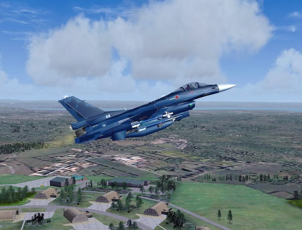 [FS9] Mitsubishi F-2A em Leuchars AB Air Show Screenshot258