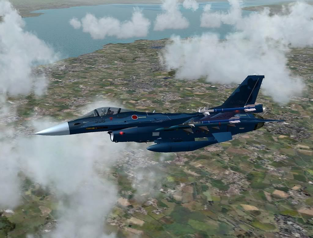 [FS9] Mitsubishi F-2A em Leuchars AB Air Show Screenshot261