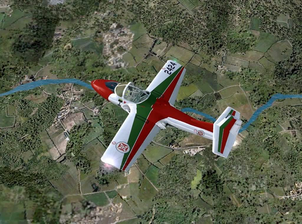 [FS9] - T-37C -  Asas de Portugal (FAP) T-37FAP12