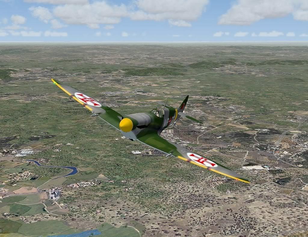 [FS9] Spitfire Mk VB da FAP - Patrulhando no Algarve Screenshot308