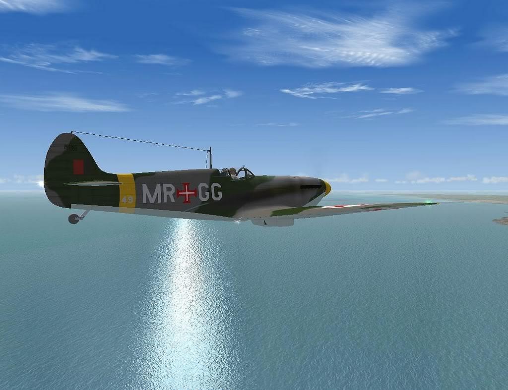 [FS9] Spitfire Mk VB da FAP - Patrulhando no Algarve Screenshot310