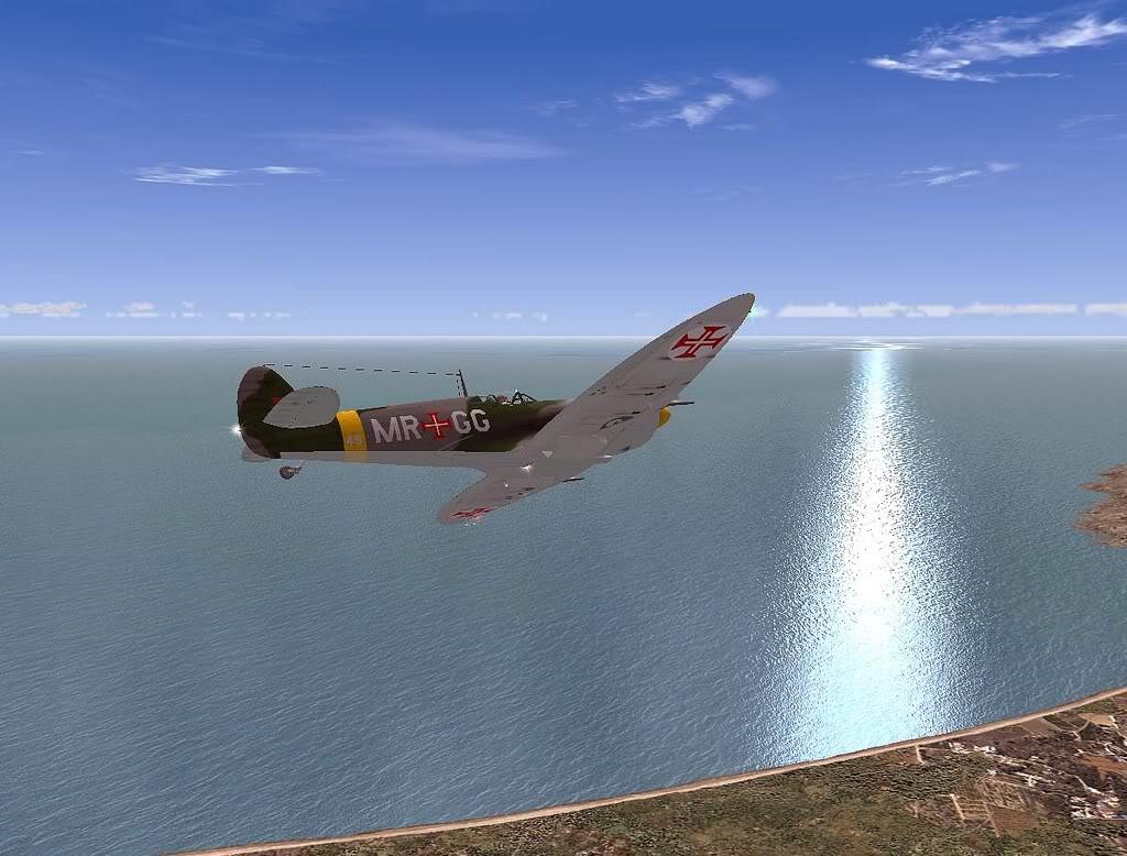 [FS9] Spitfire Mk VB da FAP - Patrulhando no Algarve Screenshot311